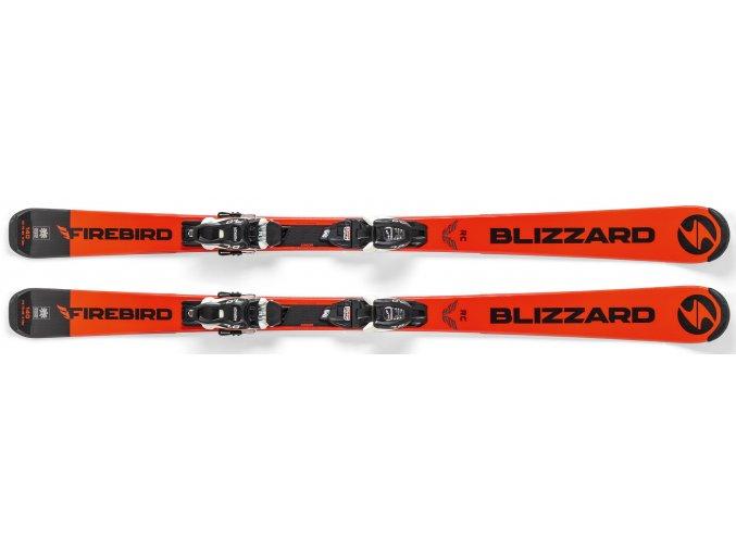 sjezdové lyže BLIZZARD FIREBIRD RC JR + vázání FDT JR 7, 19/20 (Veľkosť 150 cm)