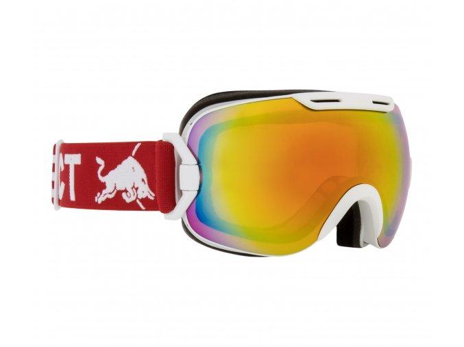 5316 lyzarske bryle red bull spect goggles slope 002 matt white frame red headband lens red snow cat2
