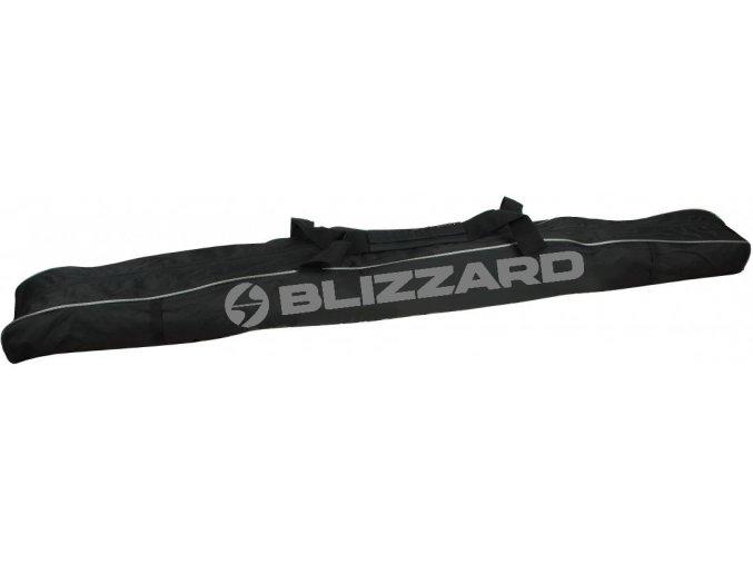 vak na lyže BLIZZARD Ski bag Premium for 1 pair, black/silver, 145-165 cm (Veľkosť 145-165 cm)