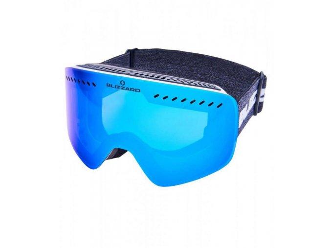 5358 1 lyziarske okuliare blizzard bliz ski gog 983 mdavzo white shiny smoke2 blue revo