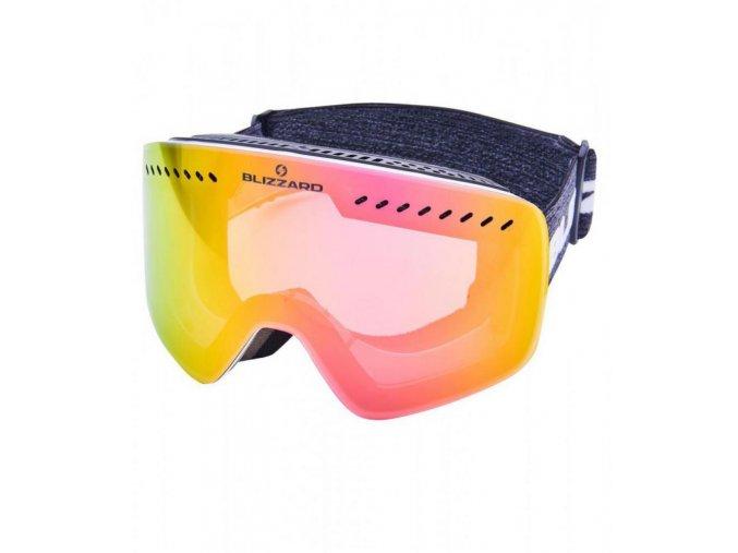 5391 1 lyziarske okuliare blizzard bliz ski gog 983 mdavzo white shiny smoke2 pink revo