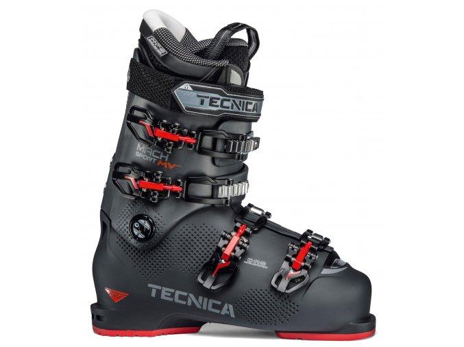 lyžařské boty TECNICA Mach Sport MV 100, graphite, 19/20 (Veľkosť MP 310 = UK 12 = EU 47)