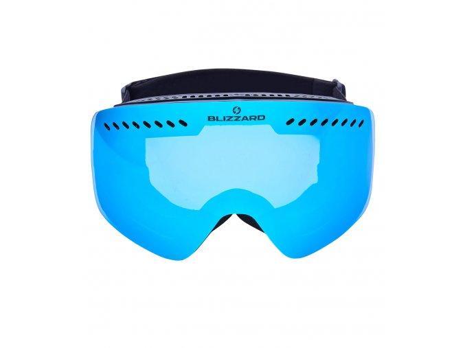 5427 1 lyziarske okuliare blizzard bliz ski gog 983 mdavzo black matt smoke2 green revo