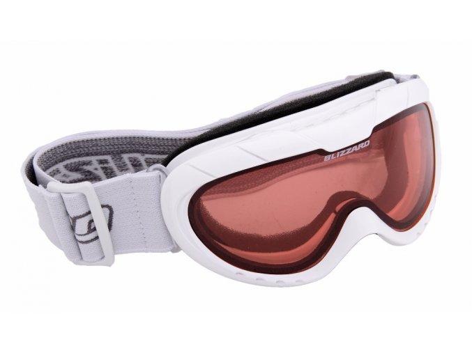 5457 lyzarske bryle blizzard ski gog 902 dao white shiny rosa1 akce