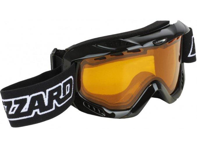 5502 lyzarske bryle blizzard bliz ski gog 911 davo black amber1