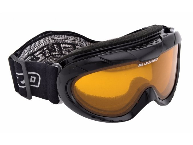 5505 lyzarske bryle blizzard ski gog 902 dao black amber1 akce