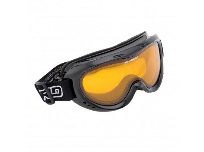 5571 lyzarske bryle blizzard bliz ski gog 907 dao black amber1