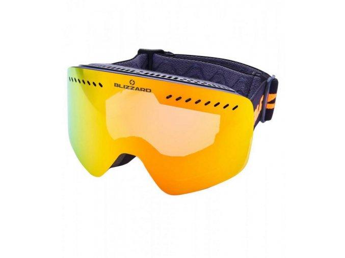 5616 1 lyziarske okuliare blizzard bliz ski gog 983 mdavzo black matt smoke2 red revo