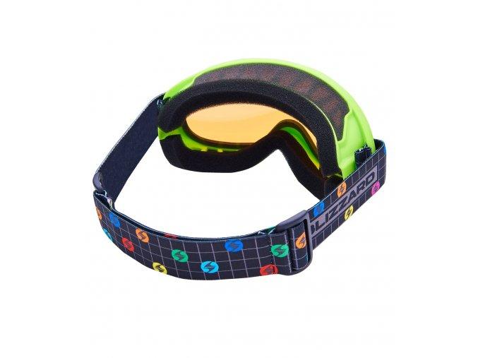 5670 1 lyziarske okuliare blizzard bliz ski gog 929 dao neon green amber1