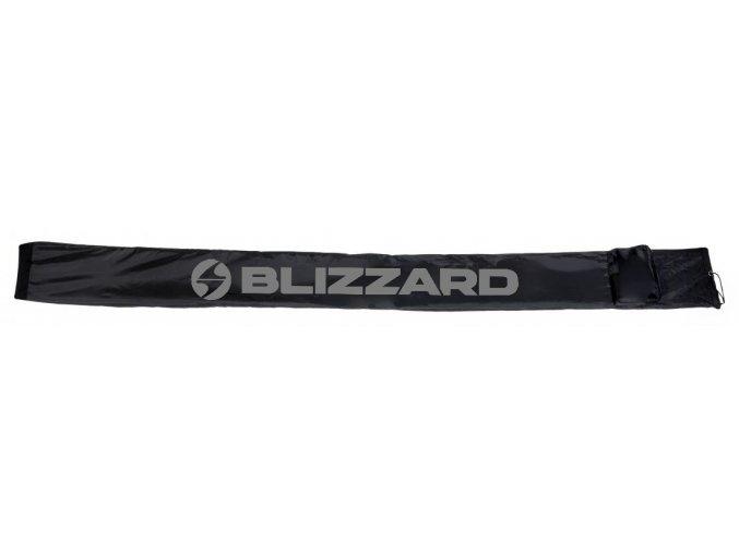 vak na lyže BLIZZARD Ski bag for crosscountry, black/silver, 210 cm (Veľkosť 210 cm)