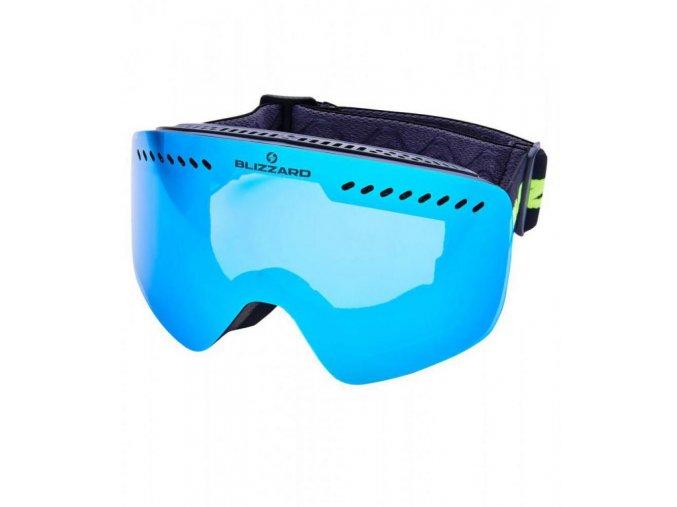 5727 1 lyziarske okuliare blizzard bliz ski gog 983 mdavzo black matt smoke2 ice blue revo