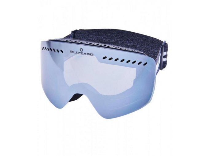 5766 1 lyziarske okuliare blizzard bliz ski gog 983 dazo black amber2 silver mirror