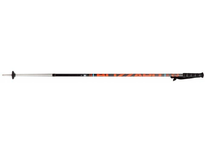 Lyžiarske palice BLIZZARD Race 7001/carbon ski poles, black/orange