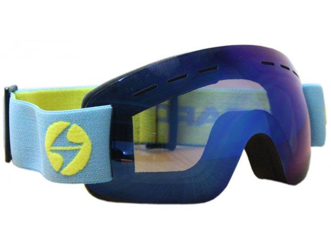 Lyžiarske okuliare BLIZZARD Ski Gog. MF02KID DAVZS, smoke2, blue mirror