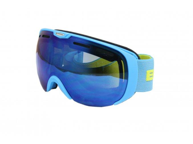 9801 lyziarske okuliare blizzard basic neon blue