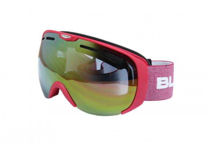 9816 lyziarske okuliare blizzard basic raspberry