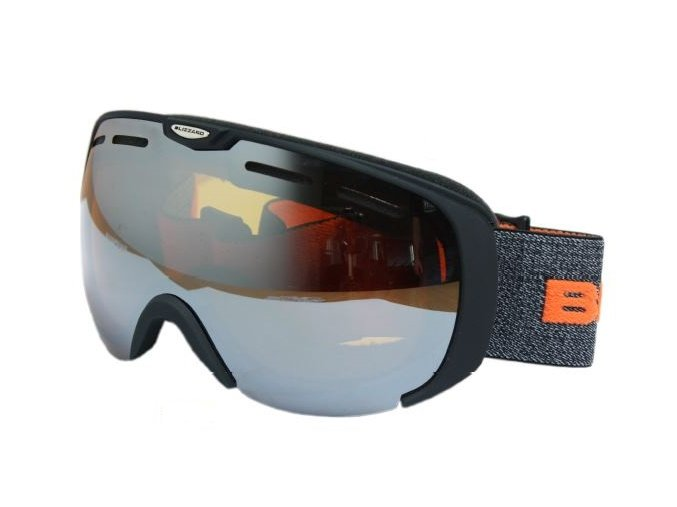 9828 lyziarske okuliare blizzard basic contrast black