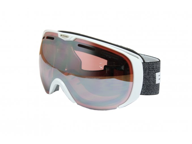 9870 lyziarske okuliare blizzard basic white