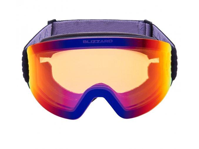 9891 lyziarske okuliare blizzard 932 orange