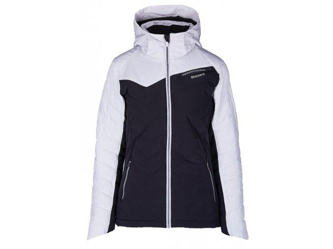 lyžařská bunda BLIZZARD Viva Ski Jacket Carezza, black/white (Veľkosť XS)