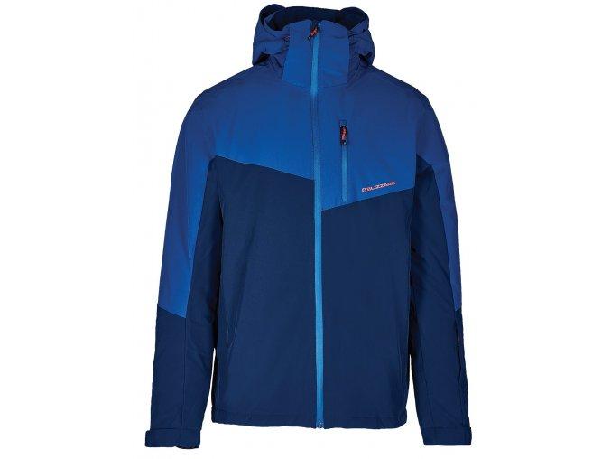 lyžařská bunda BLIZZARD Mens Ski Jacket Cervinia, dark blue/petroleum blue (Veľkosť XXL)