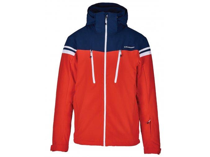 lyžařská bunda BLIZZARD Mens Ski Jacket Civetta, red/dark blue/white (Veľkosť XXL)