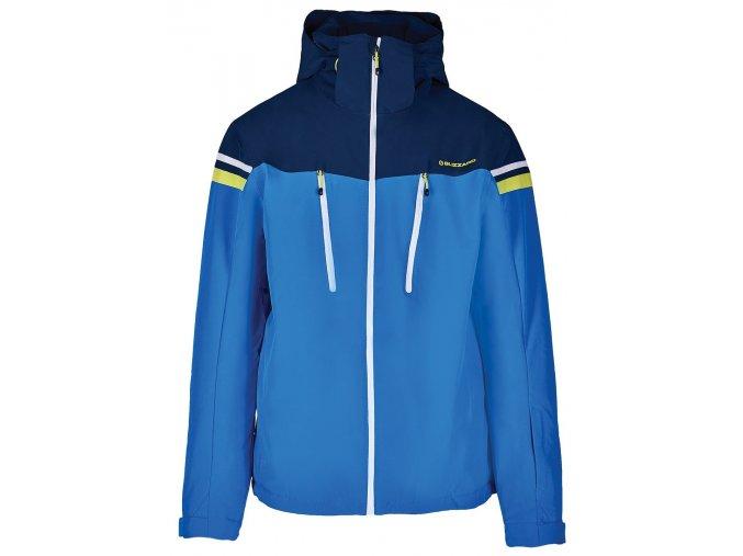 lyžařská bunda BLIZZARD Mens Ski Jacket Civetta, bright blue/dark blue/white (Veľkosť XXL)