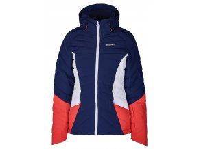 Lyžiarska bunda BLIZZARD Viva Ski Jacket Pinzolo, dark blue/rosa/white (Veľkosť XS)