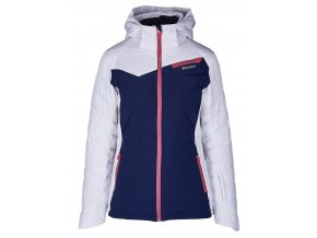 Lyžiarska bunda BLIZZARD Viva Ski Jacket Carezza, dark blue/white/light grey/pink (Veľkosť XS)