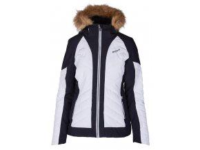 lyžařská bunda BLIZZARD Viva Ski Jacket Cortina, white/black/silver (Veľkosť XS)