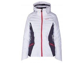 lyžařská bunda BLIZZARD Viva Ski Jacket Pinzolo, white/dark grey/pink (Veľkosť XS)