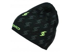 čepice BLIZZARD Magnum cap, black/yellow, SMU SP (Veľkosť UNI)