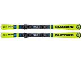Lyže BLIZZARD RTX zelené s viazaním TLT 10 DEMO, 20/21 (Veľkosť 167)