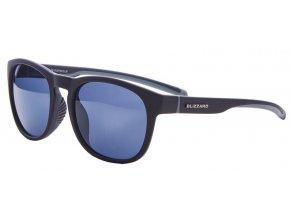 Slnečné okuliare BLIZZARD sun glasses POLSF706110, rubber black, 60-14-133 (Veľkosť 60-14-133)