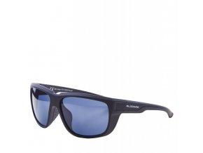 Slnečné okuliare BLIZZARD sun glasses PCS707110, rubber black, 65-18-140 (Veľkosť 65-18-140)