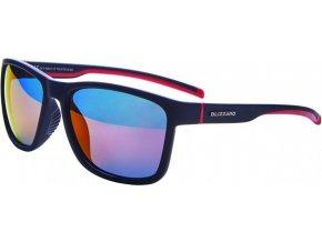 Slnečné okuliare BLIZZARD  130 rubber black red 63-17-133 (Veľkosť 63-17-133)