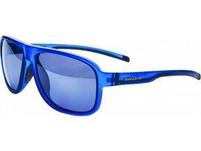 Slnečné okuliare BLIZZARD 140 rubber trans. dark blue, 65-16-135 (Veľkosť 65-16-135)