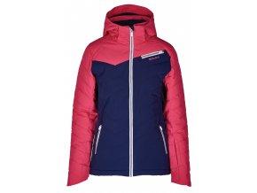 Lyžiarska bunda BLIZZARD Viva Ski Jacket Carezza, dark blue/pink/white (Veľkosť XS)