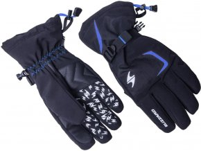 Lyžiarske rukavice BLIZZARD Reflex, black/blue