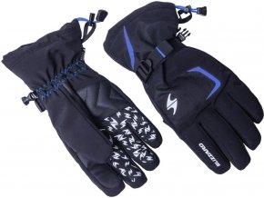 Lyžiarske rukavice BLIZZARD Reflex, black/blue