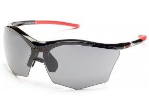 sluneční brýle RH+ Ultra Stylus, black/grey, grey+orange lens