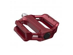 Pedále MTB Flat EF202 červené