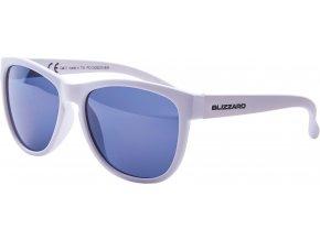 Slnečné okuliare BLIZZARD sun glasses PCC529220, white matt, 55-13-118