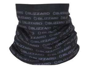 Nákrčník BLIZZARD Tube, black, size UNI