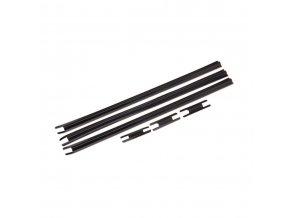 Krytka káblov SM-WQX2-L Di2 veľ.L(300mmx3) S(50mmx3) čierna