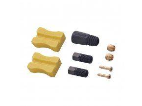 Hadička hydraulická 1000mm biela M975/775/615/485/396/355/315