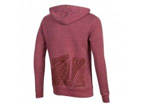 Mikina PULLOVER s kapucňou červená /Vel:XL
