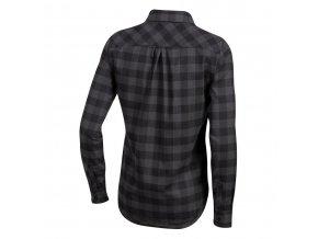 Košeľa dámska ROVE s dlhým rukávom čierna /Vel:L