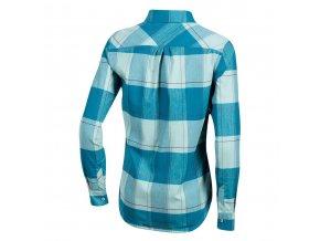 Košeľa dámska ROVE s dlhým rukávom modrá /Vel:M
