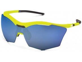 sluneční brýle RH+ Ultra Stylus, yellow/black, smoke flash blue + orange lens